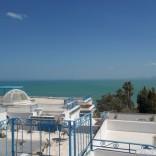 A louer villa avec vue sur mer à Sidi Bou Said
