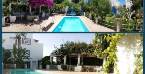 A louer une belle villa avec piscine et grand jardin