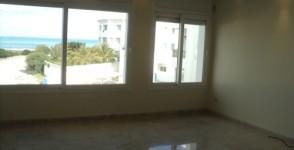 A vendre appartement pieds dans l'eau à Gammarth