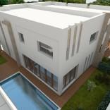 A vendre deux villas jumelés avec piscine