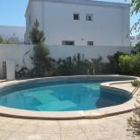 A louer villa sur deux niveaux avec piscine à La Marsa