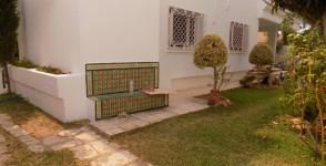 A louer villa plain pied avec jardin