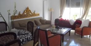 A louer appartement au rez de chaussée neuf richement meublé