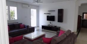 A louer un grand étage de villa meublé S+4